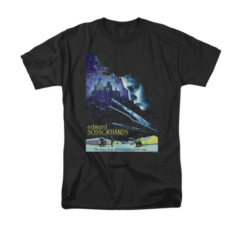 Image for Edward Scissorhands T-Shirt - Poster
