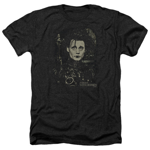 Image for Edward Scissorhands Heather T-Shirt - Edward