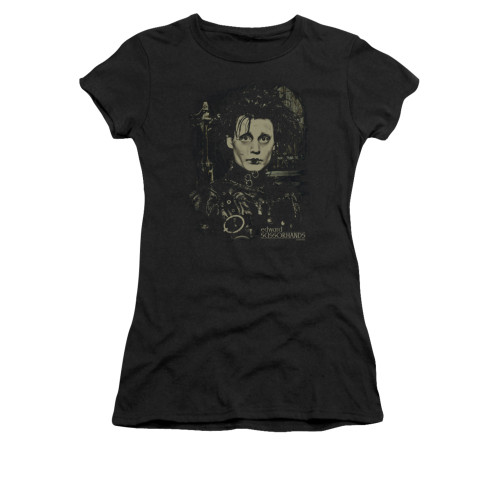 Image for Edward Scissorhands Girls T-Shirt - Edward