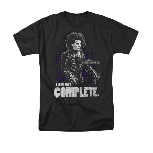 Image for Edward Scissorhands T-Shirt - Not Complete