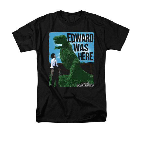 Image for Edward Scissorhands T-Shirt - Edward Was Here