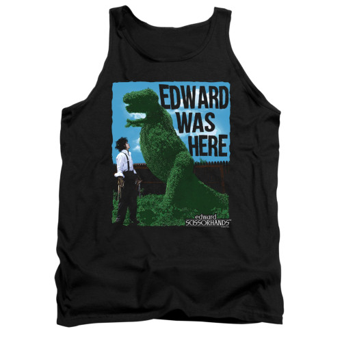 Image for Edward Scissorhands Tank Top - Edward Was Here