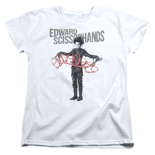 Image for Edward Scissorhands Womans T-Shirt - Show & Tell