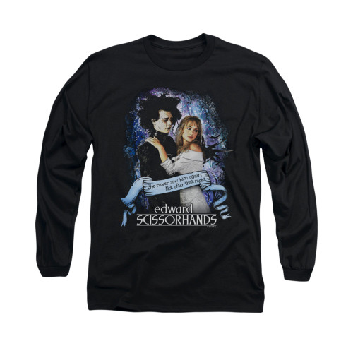 Image for Edward Scissorhands Long Sleeve Shirt - That Night