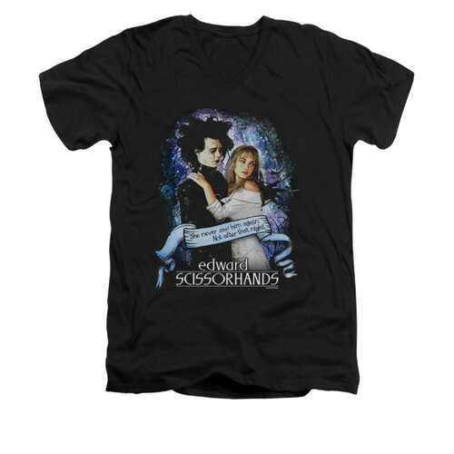 Image for Edward Scissorhands V Neck T-Shirt - That Night