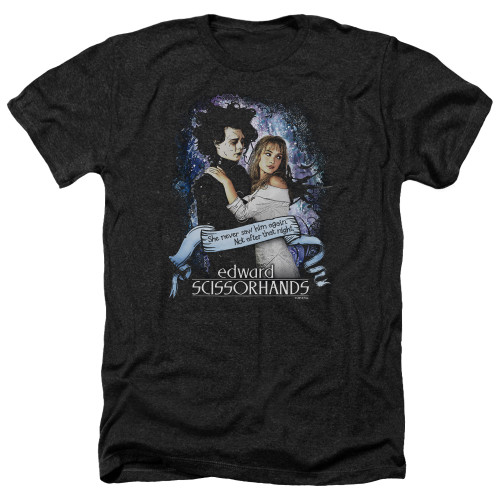 Image for Edward Scissorhands Heather T-Shirt - That Night