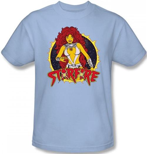 Image Closeup for Starfire T-Shirt