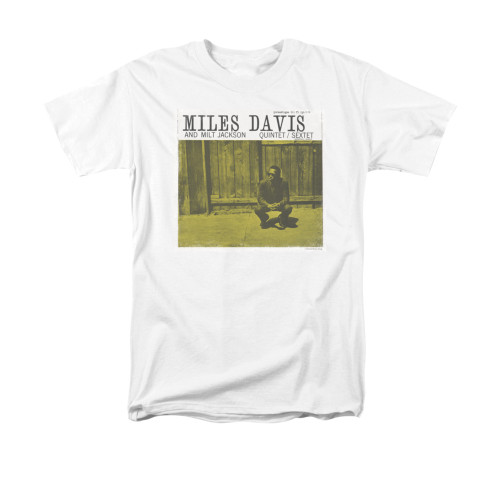Image for Miles Davis T-Shirt - Miles And Milt