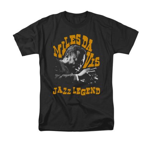Image for Miles Davis T-Shirt - Jazz Legend