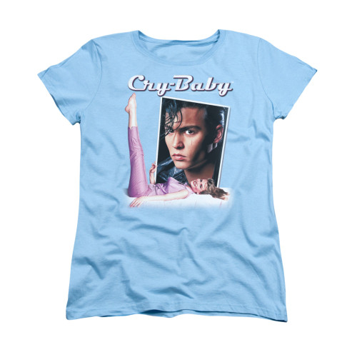 Image for Cry Baby Womans T-Shirt - Title