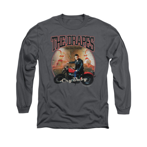 Image for Cry Baby Long Sleeve Shirt - Drapes