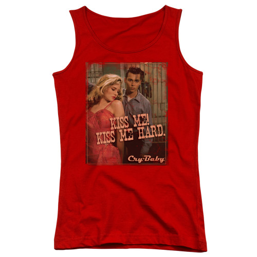 Image for Cry Baby Girls Tank Top - Kiss Me
