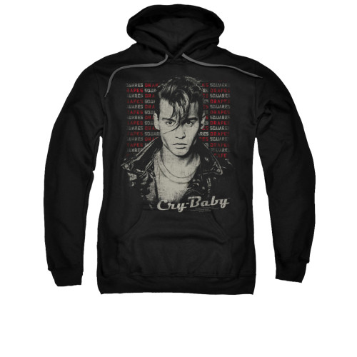 Image for Cry Baby Hoodie - Drapes Squares