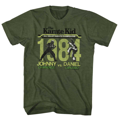 Image for Karate Kid T Shirt - Fight!!