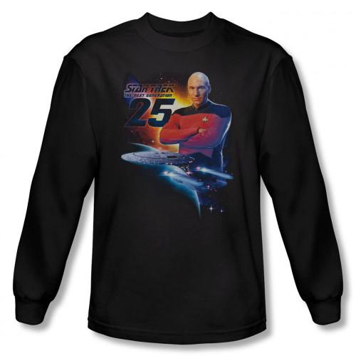 Image for Star Trek Long Sleeve Shirt - TNG 25