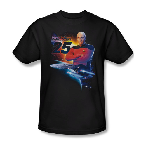 Image for Star Trek T-Shirt - TNG 25
