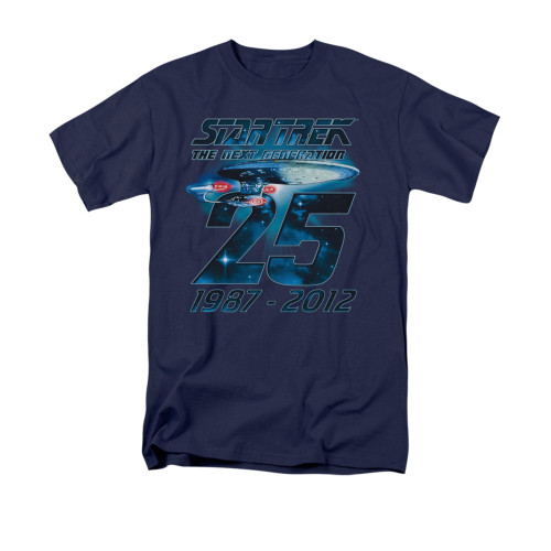 Image for Star Trek the Next Generation T-Shirt - Enterprise 25