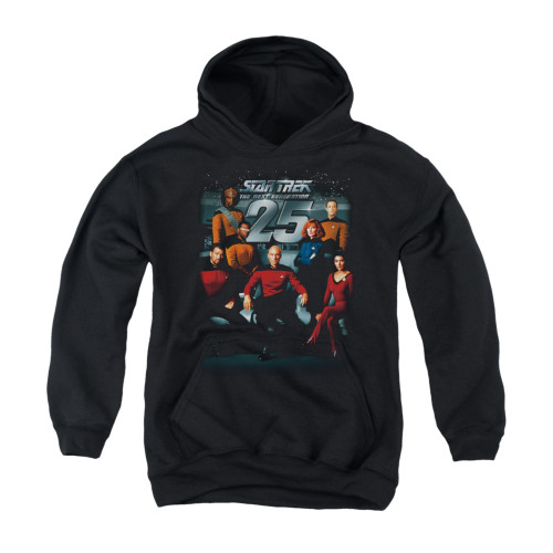 Image for Star Trek the Next Generation Youth Hoodie - 25th Anniversary Crew