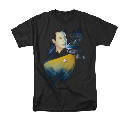 Image for Star Trek the Next Generation T-Shirt - Data 25th