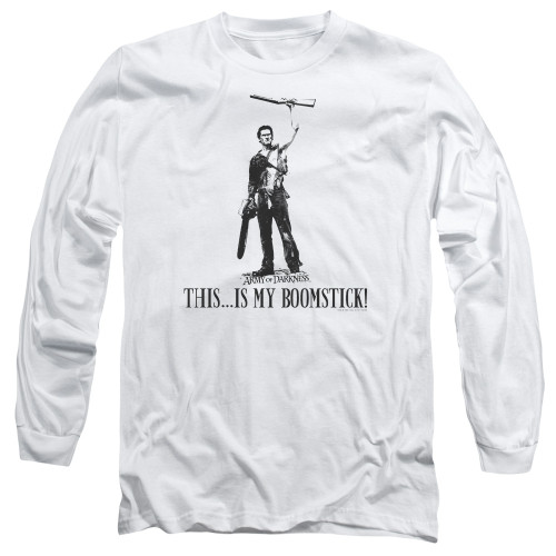 Image for Army Of Darkness Long Sleeve Shirt - Boomstick!
