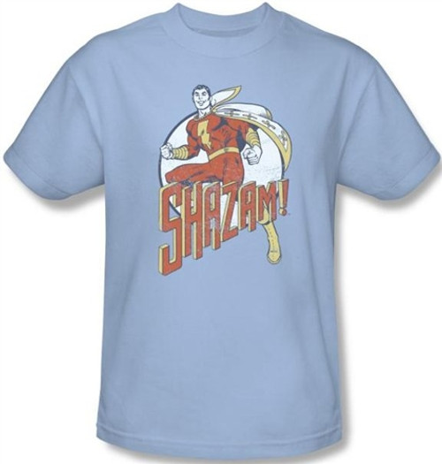 Image Closeup for Captain Marvel Stepping Out T-Shirt