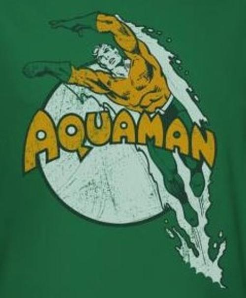 Image for Aquaman Splash Dive T-Shirt