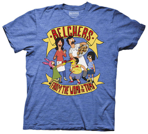 Image for Bob's Burgers T-Shirt - From the Womb to the Tomb