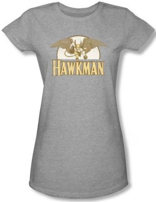 Image for Hawkman Fly By Girls Shirt