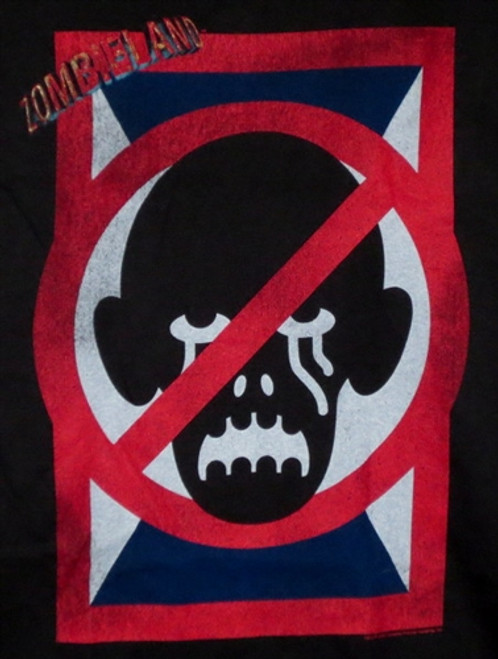 Image for Zombieland T-Shirt - No Zombies Sign