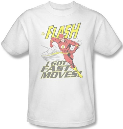 Image Closeup for Flash Fast Moves T-Shirt