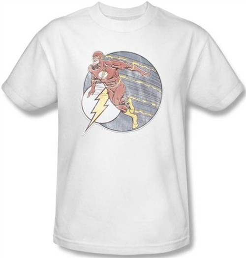 Image Closeup for Flash Retro T-Shirt
