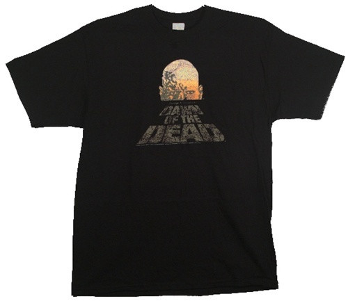 Image for Dawn of the Dead T-Shirt - Vintage Logo