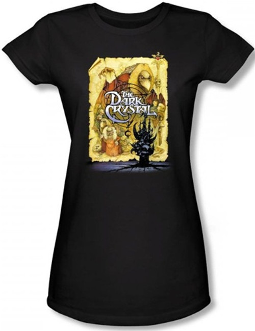 Image for The Dark Crystal Girls T-Shirt - Poster