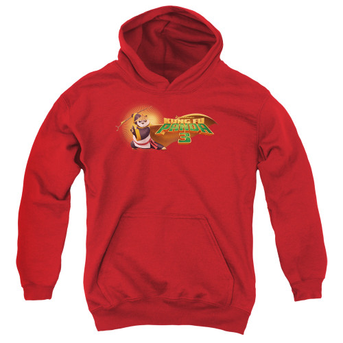 Image for Kung Fu Panda Youth Hoodie - Po Logo