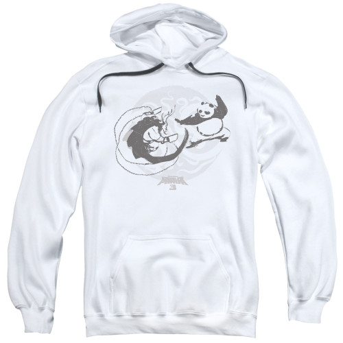 Image for Kung Fu Panda Hoodie - Face Off