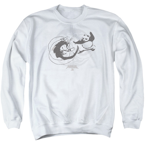 Image for Kung Fu Panda Crewneck - Face Off