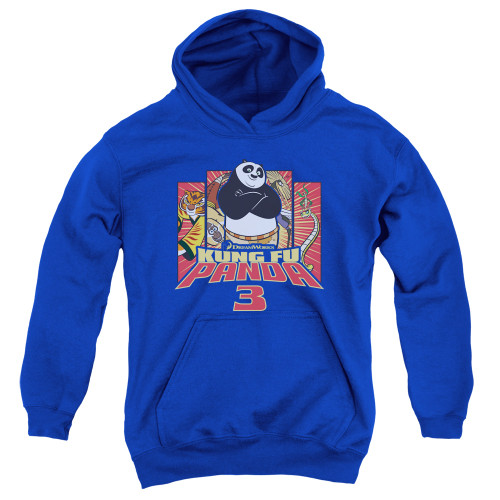 Image for Kung Fu Panda Youth Hoodie - Kung Furry