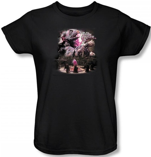 Image for The Dark Crystal Woman's T-Shirt Power Mad