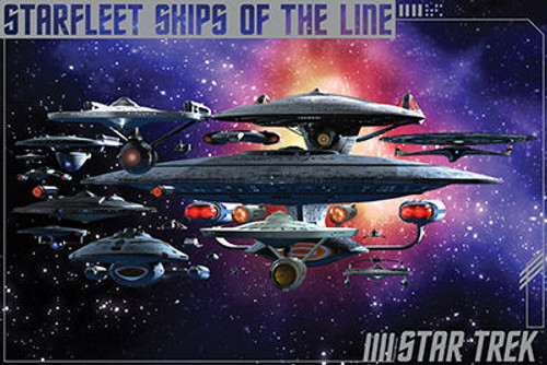 Image for Star Trek Poster - Ships of the Line