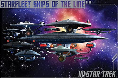 Image for Star Trek Poster - Ships of the Line