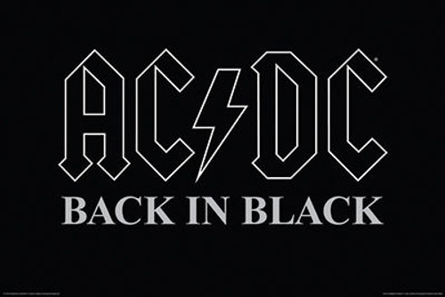 Image for AC/DC Poster - Back in Black
