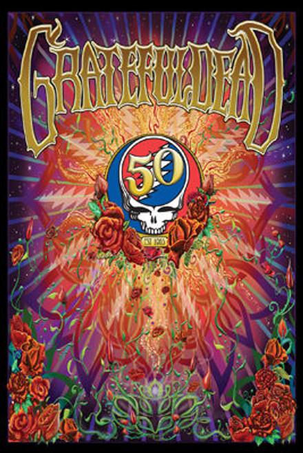 Image for Grateful Dead 50th Poster