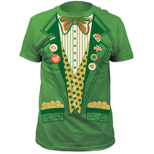 Image for St. Patty's Tuxedo Costume T-Shirt