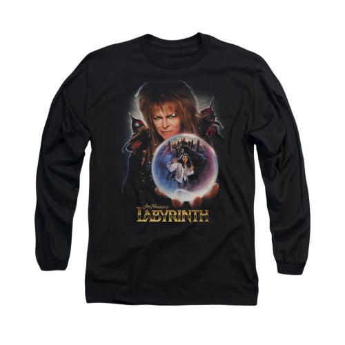 Image for Labyrinth Long Sleeve Shirt - Jareth