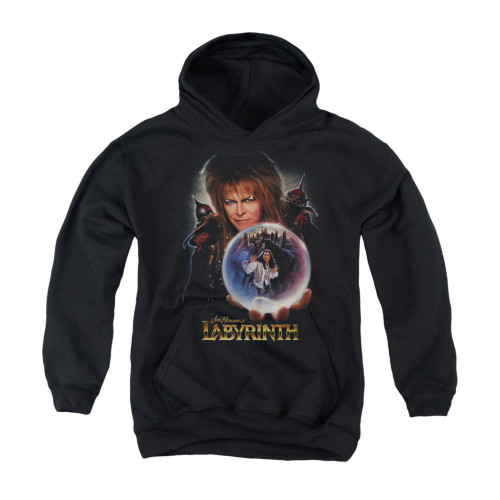 Image for Labyrinth Youth Hoodie - Jareth