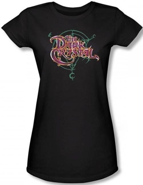 Image for The Dark Crystal Girls T-Shirt - Symbol Logo