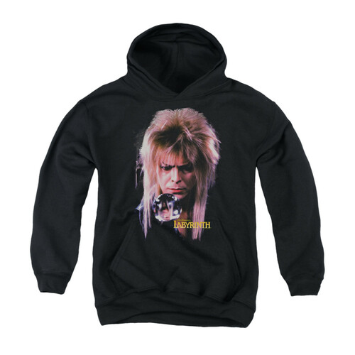 Image for Labyrinth Youth Hoodie - Goblin King