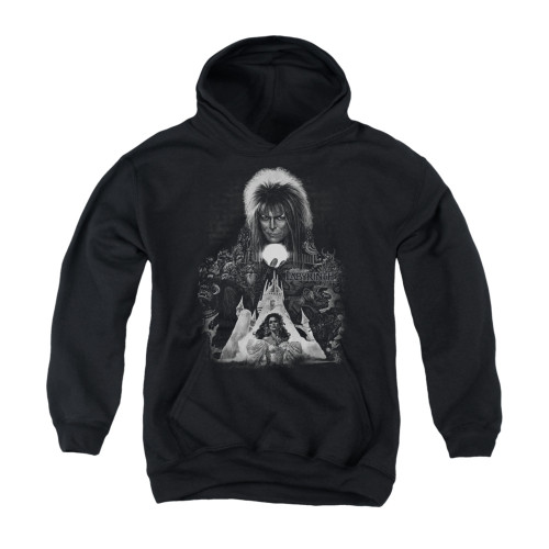 Image for Labyrinth Youth Hoodie - Castle