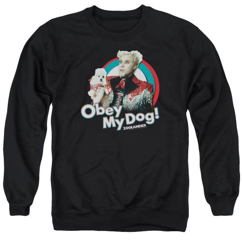 Image for Zoolander Crewneck - Obey My Dog