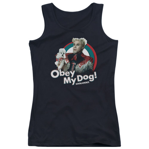 Image for Zoolander Girls Tank Top - Obey My Dog